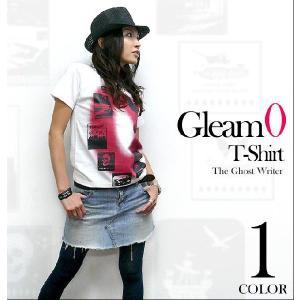 Gleam 0(ゼロ) Tシャツ -G- 半袖 ロックTシャツ ストリート グラフィック おしゃれ PunkRock 大きいサイズ|bambi