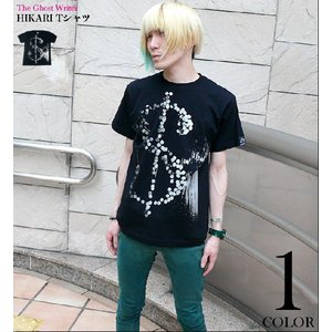 HIKARI Tシャツ -G- PUNK パンクロックTシャツ グラフィック オリジナル かっこいい メンズ レディース 半袖 大きいサイズ 春夏秋|bambi