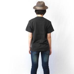 セント ジョージ クロス スカル Tシャツ (スミ) -G- 半袖 パンクロックTシャツ ドクロ イングランド 十字旗 灰色|bambi|03