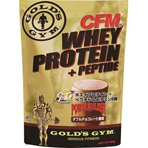 ゴールドジム(GOLD'S GYM) CFMホエイプロテイン ダブルチョコレート風味 900g|banana-store2