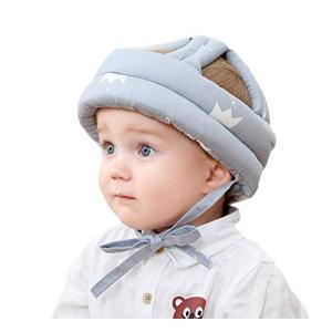 ベビーヘルメット 室内 転倒防止 帽子 可愛い ヘッドガード 頭保護 衝撃軽減 綿 通気性 調節可能 出産祝い プレ banana-store2