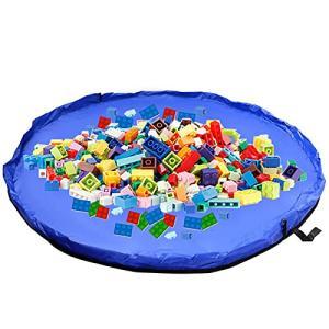 おもちゃ収納バッグ 子どもプレイマット 大容量 直径150cm 折り畳み式のベビー玩具収納袋 お片付け簡単 収納用 banana-store2