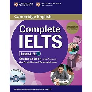 Complete IELTS Bands 6.5-7.5 Student's Pack (Student's Book with Answers with CD-ROM and Class Audio CDs (2))|banana-store2