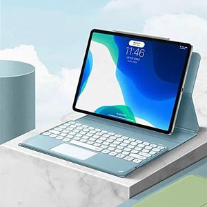 iPad Air4 10.9キーボードケース タッチパッド搭載付き,磁気吸着式 分離式キーボード、アイパッド 10.9インチラウ|banana-store2