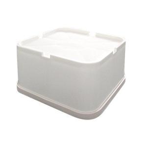 洗濯機用かさ上げ台 しっかりベース SB-160 1セット4個入り 防振タイプ|banana-store2