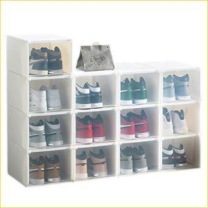 シューズボックス シューズケース スニーカーボックス 靴収納 収納ボックス 靴棚 下駄箱 小物 化粧品収納 積み|banana-store2