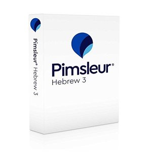 Pimsleur Hebrew Level 3 CD: Learn to Speak and Understand Hebrew with Pimsleur Language Programs (3) (Comprehensive)|banana-store2