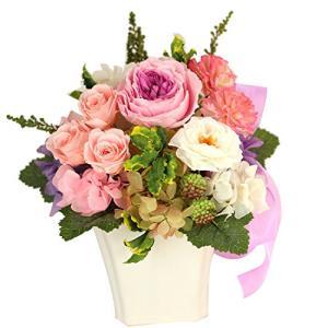 Azurosa(アズローザ) プリザーブドフラワー ギフト枯れない花 オールドローズ ミニバラ ガーデンローズ アジサイ|banana-store2