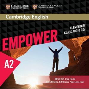 Cambridge English Empower Elementary Class Audio CDs (3)|banana-store2