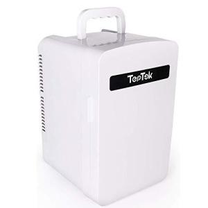 TepTek 冷蔵庫 小型 10L 車載 冷蔵庫 -2C60C 冷温庫 ミニ冷蔵庫 保冷ボックス 小型冷蔵庫 2システム 保温・保冷両用|banana-store2