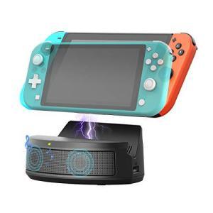 「最新版」Switchスピーカーおよび充電器ドック、Nintendo SwitchおよびスイッチLiteステレオオーディオアンプドッ|banana-store2