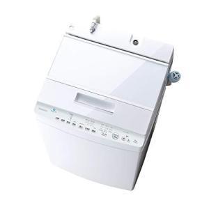 東芝 8.0kg 全自動洗濯機 グランホワイトTOSHIBA ZABOON AW-8D9-W ウルトラファインバブル洗浄|banana-store2