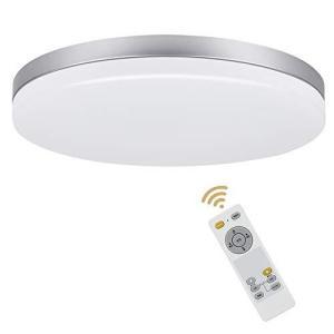 Depuley シーリングライト 6畳 調光 調色 リモコン付き 薄型 軽量 常夜灯 タイマー機能 厚さ4.5cm 24W 1940Lm led照明器|banana-store2