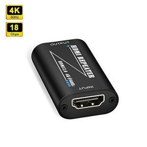 ELUTENG HDMIリピーター HDMI 延長コネクタ 4K@60Hz 高解像度 信号増幅 3D対応 高速 18Gbps hdmi 増幅器 HDMI中継アダプタ メ|banana-store2