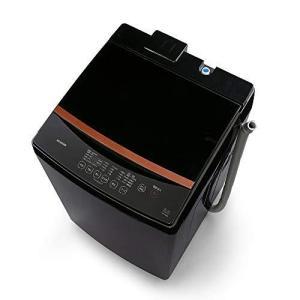 アイリスオーヤマ 全自動洗濯機 洗濯容量8kg 本体幅59cm ブラック IAW-T803BL|banana-store2