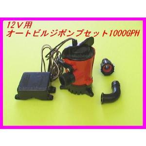 格安オートビルジポンプ JOHNSON 1000GPH 新品セット 即納|bananabeach1991