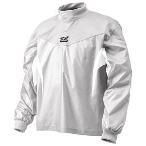 【1点までメール便可】 ミズノ 【12JE4J3101】 ジュニアトレーニングジャケット長袖 ホワイト|bandaisports