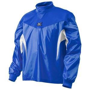 【1点までメール便可】 ミズノ 【12JE4J3127】 ジュニアトレーニングジャケット長袖 ブルー×ホワイト|bandaisports