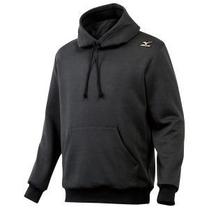 ミズノ 【12JE4K2009】 グローバルエリート スウェットパーカーシャツ ブラック 黒|bandaisports