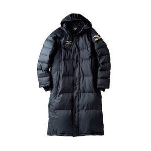 セール ミズノ 【32JE455009】 ロングダウンコート ブラック 黒|bandaisports