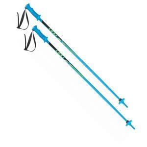 人気 16-17 レキ 【632-4405】 ジュニア用スキーポール ライダー RIDER ブルー