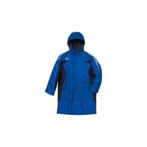 セール ミズノ 【A35JB35022】 ジュニア ロングボアコート ブルー×ブラック 青×黒|bandaisports