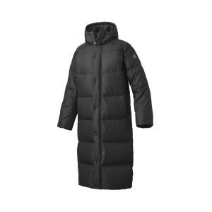 セール デサント 【DAT3773SL-BLK】 スーパーロングダウンコート ブラック 黒|bandaisports
