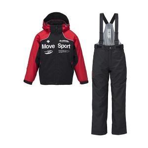 セール 16-17 デサント 【DJR-611JF-BLK】 ジュニアスキースーツ ブラック|bandaisports