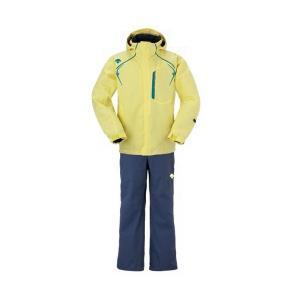 セール デサント 【DRA-4090F-LMN】 メンズ スキーウェアセット SNOWFIELD 【レモン】 黄色|bandaisports