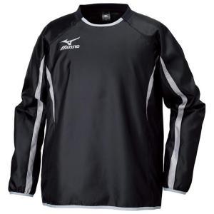 【1点までメール便可】 ミズノ 【P2ME560509】 ジュニアピステシャツ長袖 ブラック 黒|bandaisports