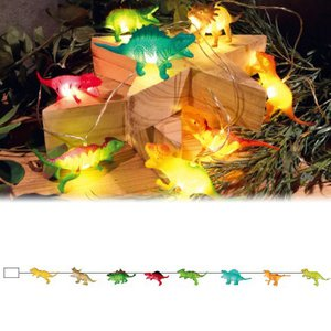 アニマルガーランド ダイナソー L04-0033 ギフト プレゼント 動物 恐竜 海洋生物 ライト 飾り付け 子ども かわいい キッズルーム 男の子 LUMO|bandblife