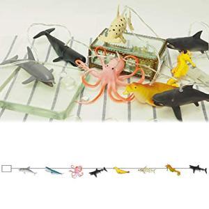 アニマルガーランド オーシャン L04-0034 ギフト プレゼント 動物 恐竜 海洋生物 ライト 飾り付け 子ども かわいい キッズルーム 男の子 LUMO|bandblife
