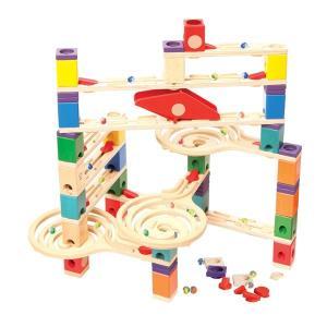 クアドリラ ツイスト&レールセット QDE6009AB05 ボーネルンド 知育玩具 4歳 5歳 6歳 プレゼント ビー玉|bandblife