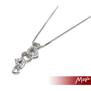 Magia(マジーア) 5連ハートネックレス 2-250-106|bandblife