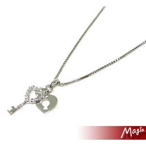 Magia(マジーア) ハートキーチャームネックレス 2-250-117|bandblife