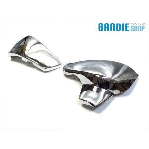新商品 STEED400 スティード400 VLX ステンレス サイドカバー HONDA ホンダ 純正タイプ メッキ カバー bandieshop