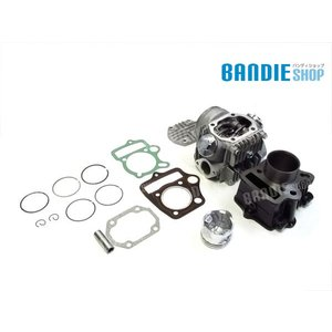 新商品 モンキー ゴリラ カブ系 72cc ボアアップ&ヘッドキット ホンダ HONDA シリンダー ヘッド 純正タイプ|bandieshop