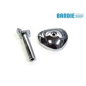スティード400 キャブレター カバー NC26 VSE VCL VLS STEED400 HONDA ホンダ 新品 キャブカバー メッキ|bandieshop