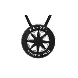 BANDEL Necklace Metallic ネックレス メタリック Black×Silver|bandofballers