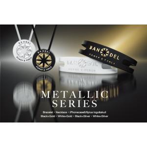 BANDEL Necklace Metallic ネックレス メタリック Black×Silver|bandofballers|04
