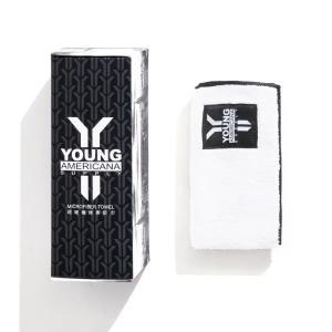 ヤングアメリカーナサプリ YOUNG AMERICANA SUPPLY シュークリーニングタオル 35×35 bandofballers