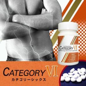 CategoryVI(カテゴリー6) 男性用サプリメント 増...