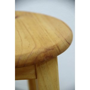 座面60cm 無垢木製 スツール カントリーパインスツール Mサイズ カントリーカウンターチェア 重さ約2.5kg カウンター高さ85〜90cmに合う椅子|banjo|06
