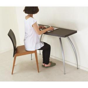 イタリア製コンソールテーブル/濃いこげ茶色/前後伸張式テーブル/伸張式木製テーブルpocket wenge色|banjo