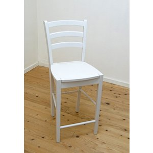 白い カウンターチェア 座面高60cm 木製 カウンター天板高85〜90cmにあう 木製カウンターチェア408 ホワイト(白色)|banjo|05