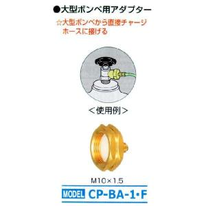 デンゲン<大型ボンベ用アダプター>CP-BA-1・F|bankinkougu