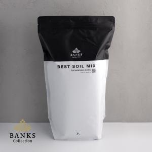 観葉植物用培養土  Best Soil Mix 3L 1袋 ベストソイルミックス 3リットル バンクスコレクション bankscollection