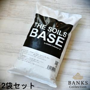 観葉植物用培養土 THE SOILS 'BASE'  5L  2袋セット ザソイルベース 5リットル バンクスコレクション bankscollection