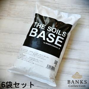 観葉植物用培養土 THE SOILS 'BASE'  5L  6袋セット ザソイルベース 5リットル バンクスコレクション bankscollection