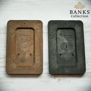バイオマスプレート 6枚セット 擬木素材 着生材 観葉植物用 壁掛け 送料込み|bankscollection|02